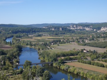 View over the Dordogne