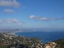 View over Playa de Pals