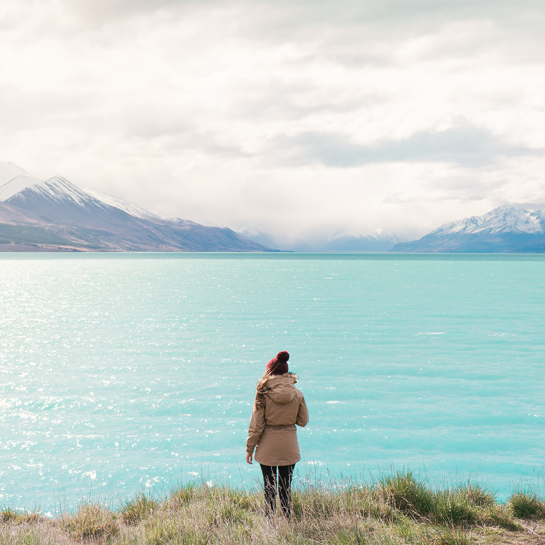 12 MUST SEE PLACES ON THE SOUTH ISLAND OF NEW ZEALAND - LAKE PUKAKI