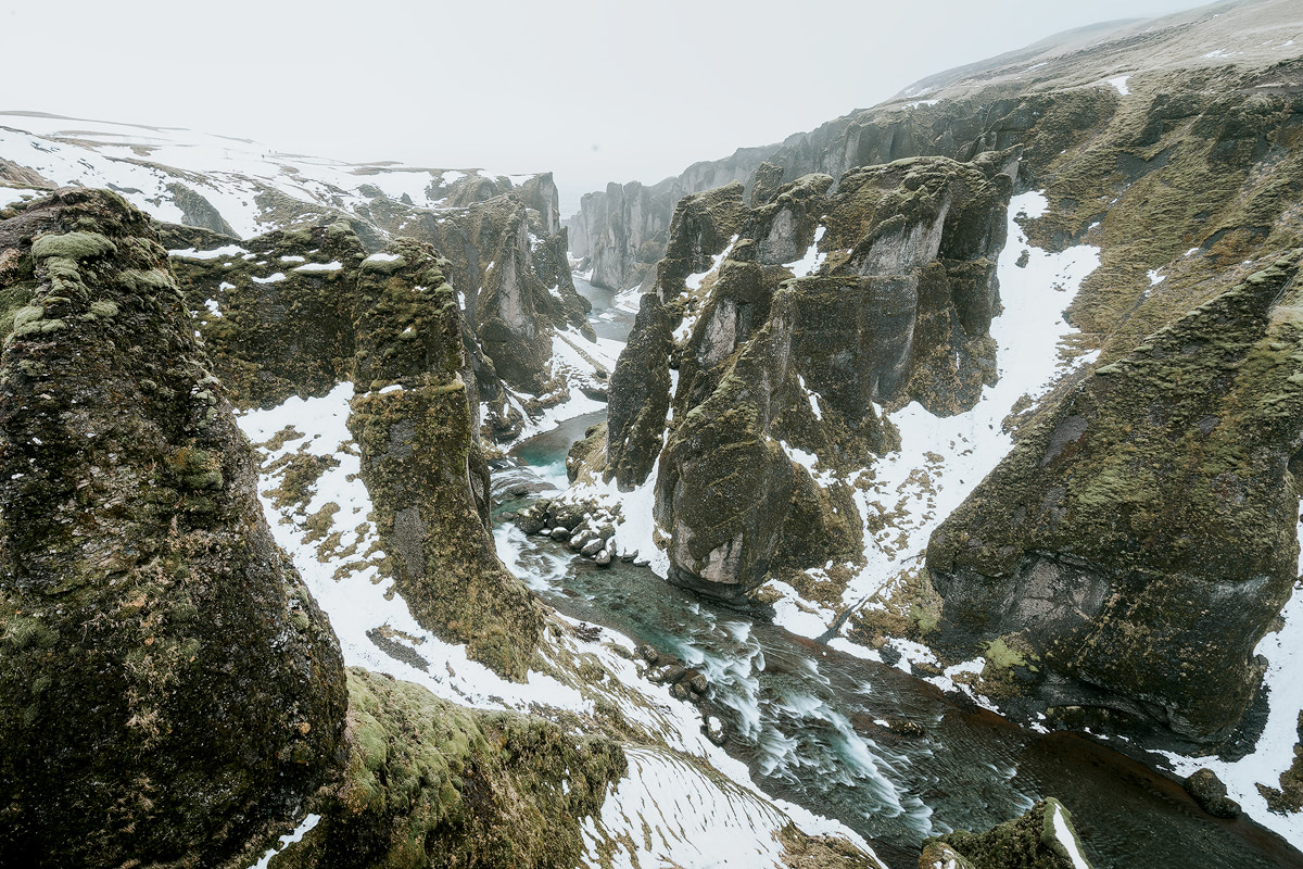 Iceland, Fjadrargljufur canyon - Renee Roaming
