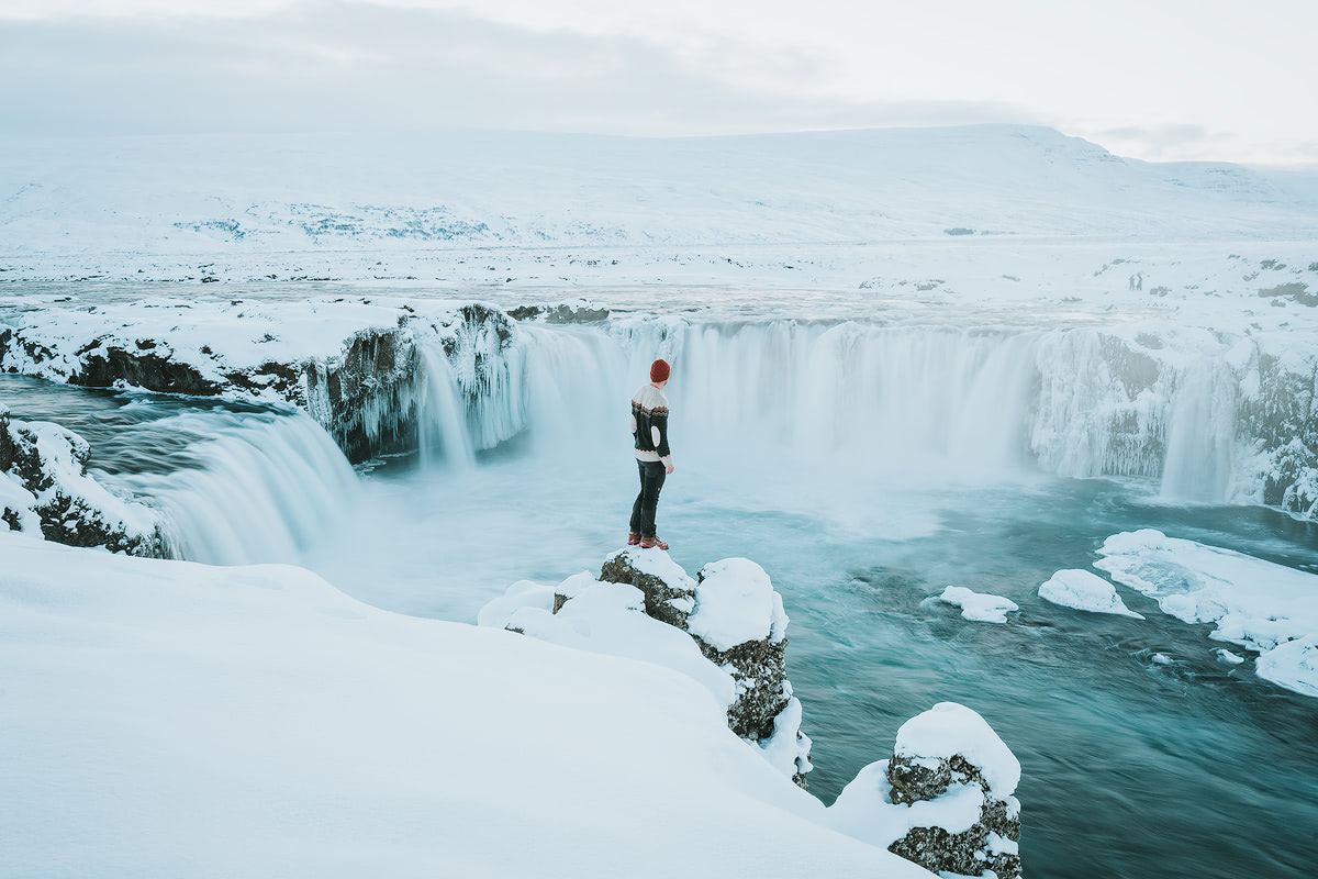 Iceland, Godafoss - Renee Roaming