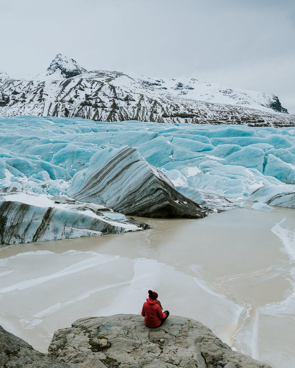 Iceland, Svinafellsjokull - Renee Roaming