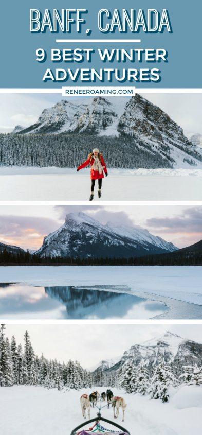9 Best Winter Adventures in Banff Canada