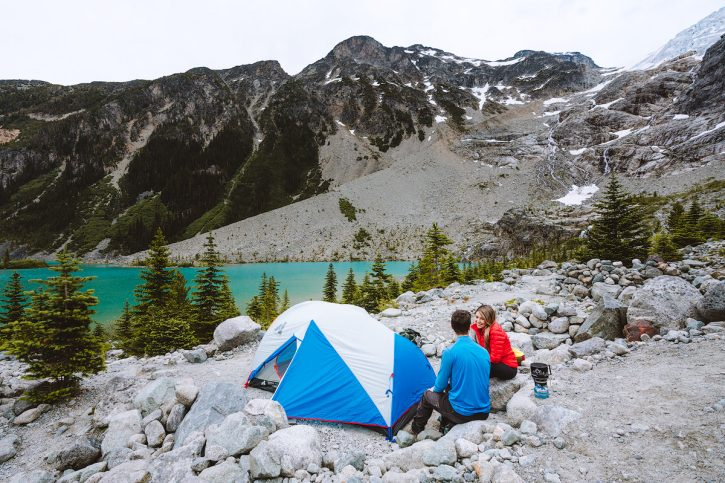 Couples Adventure Getaway to British Columbia Joffre Lakes 3
