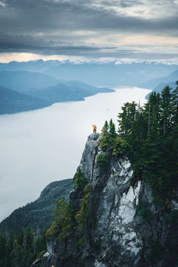 Couples Adventure Getaway to British Columbia St Marks Summit Vancouver 4