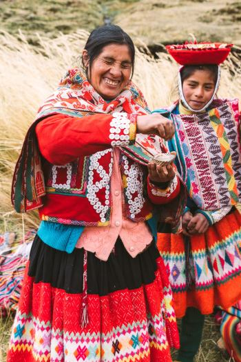 Best-Things-To-Do-In-And-Around-Cusco-Peru-Llama-Blessing4
