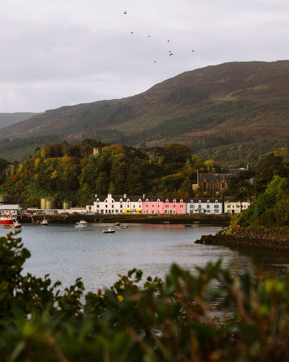 Epic Isle of Skye Photography Locations Renee Roaming Portree Harbor