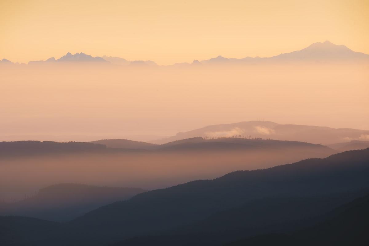 Olympic National Park Adventure Getaway 24 Hour Itinerary from Seattle Renee Roaming Hurricane Ridge Sunrise 2