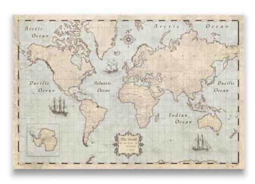 20 Thoughtful Gift Ideas for Travel Lovers World Map