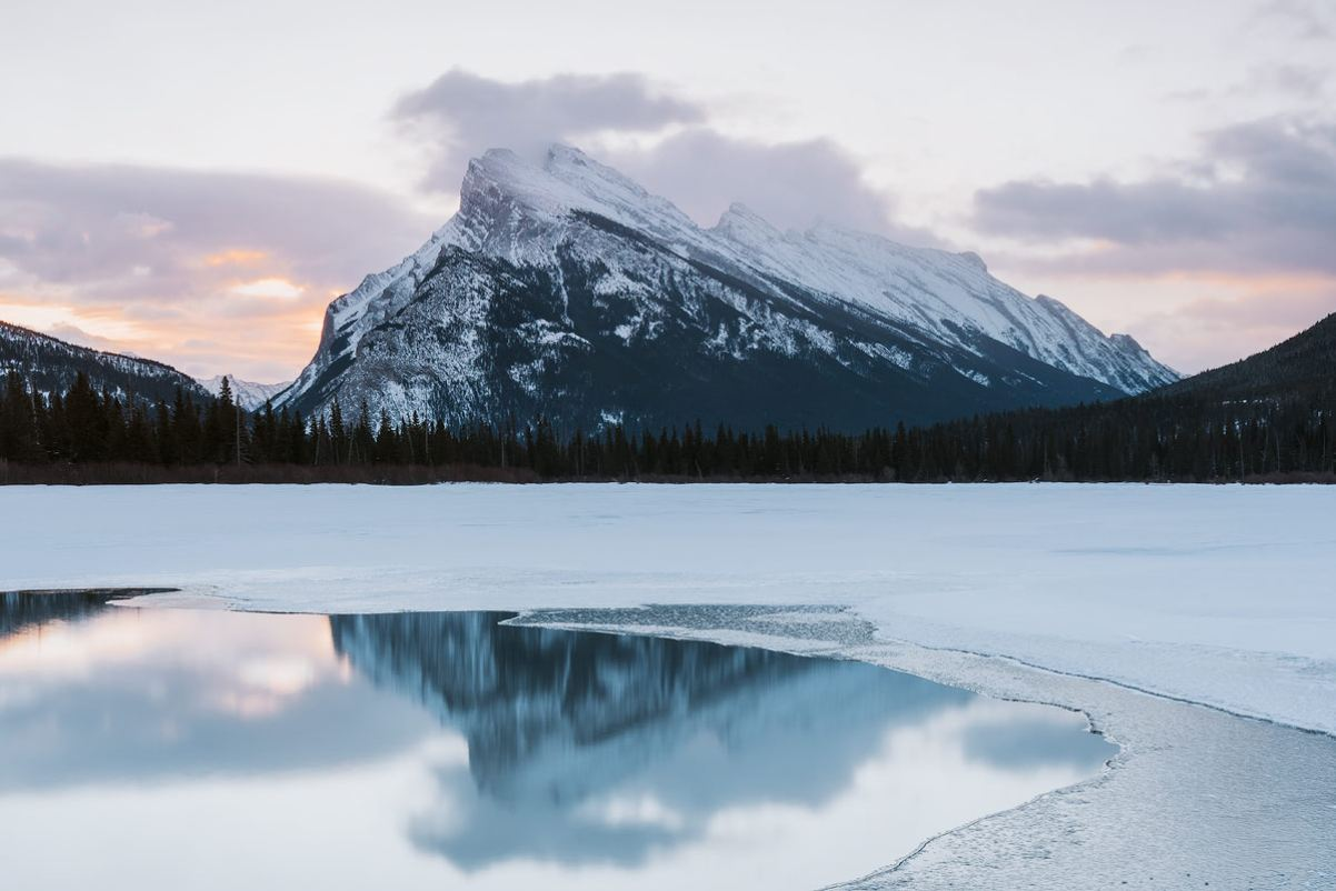 Planning a Trip to Banff in Winter - Vermillion Lakes - Renee Roaming