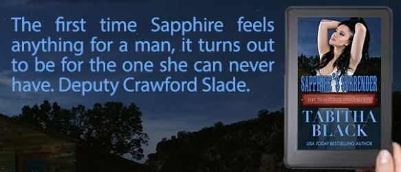 Sapphire's Surrender by Tabitha Black (Red Petticoat Saloon)