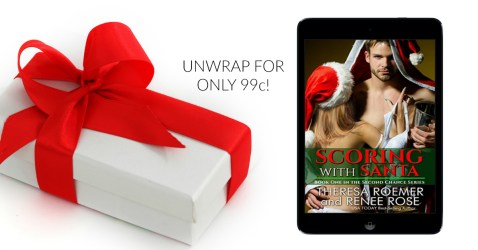 NEW RELEASE! Scoring with Santa #Holiday #Sports #Romance