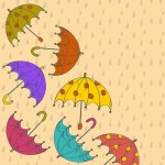 abstract-rainy-season-background-with-rain-drops-and-colorful-umbrellas_f1f0bjvd