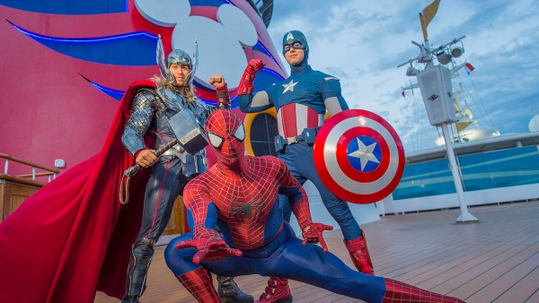 Avengers Unite! Marvel Day at Sea in 2018 with Disney Magic