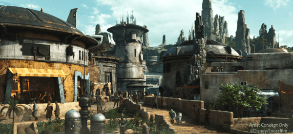 SNEAK PEEK into Star Wars' Galaxy's Edge in Disney's Hollywood Studios!