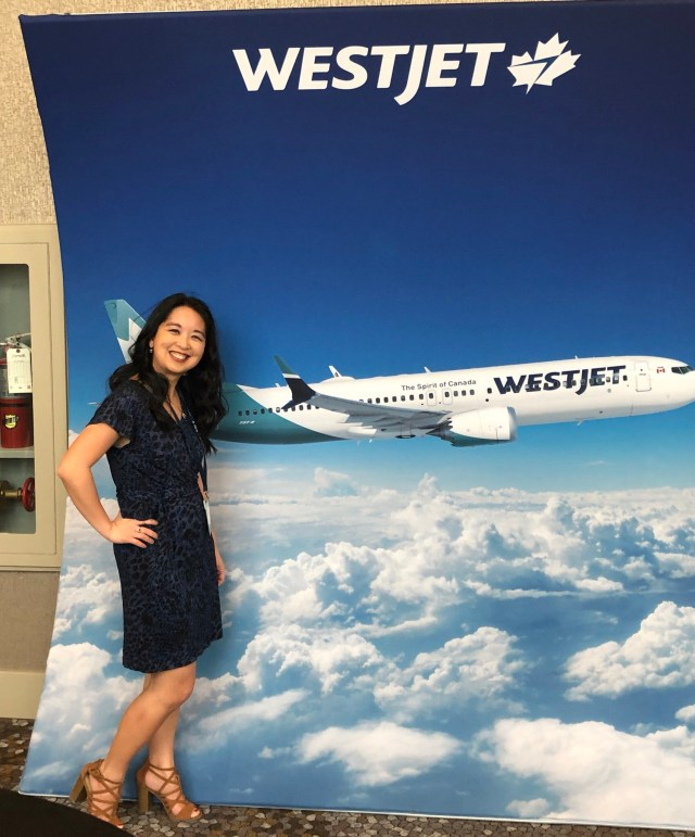 Renee Tsang Travel + WestJet