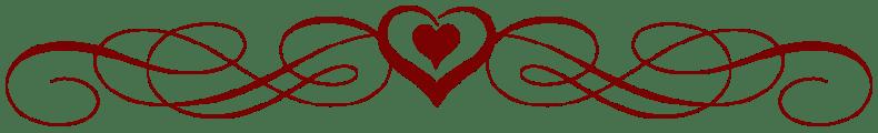 Image result for valentine divider png