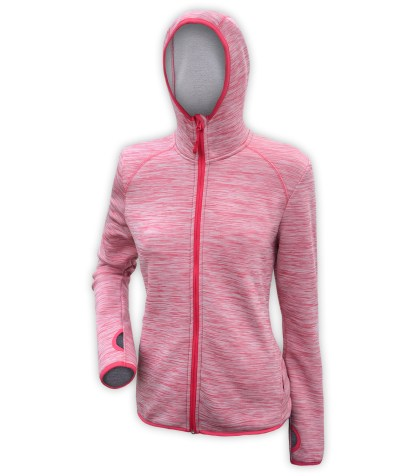light pink jacket hood for women, wholesale embroidery