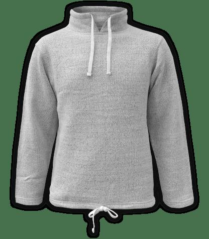 Renegade Club Unisex Fleece Pullover, womens sweatshirt, mens sweatshirt, nantucket soft fleece, salt and pepper, white, gray