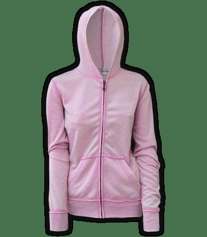 burnout fleece, renegade hoodie, resort stop full zipper, pink