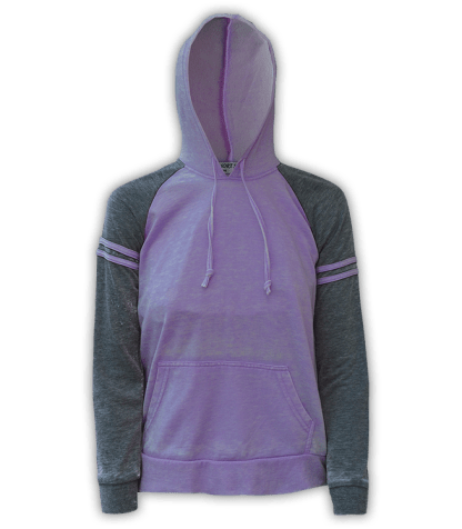 renegade club wholesale fleece pullover sweatshirt, hooded, stripes, purple