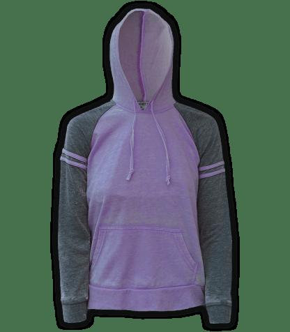 renegade club wholesale fleece pullover sweatshirt, hooded, stripes, purple