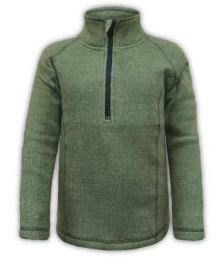renegade club youth pullover, nantucket fleece, olive, green, zipper, half zip, quarter zip, kids fleece pullover, outerwear