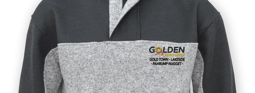 custom embroidery mockup, renegade club custom logo, jacket, black, gray color logo