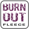 renegade burnout fleece fabric logo, purple, burn out, signature fabric