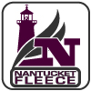 renegade nantucket fleece fabric logo, lighthouse, N, purple, square, signature brand fabric