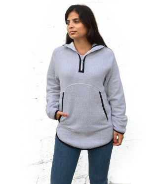 womens nantucket quarter zip, renegade blanks for embroidery pockets wholesale