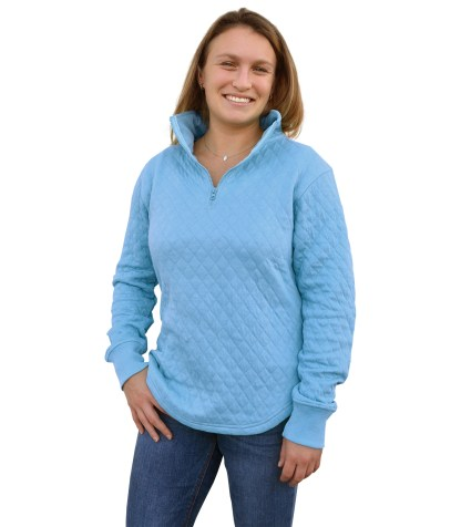 womens quilted fleece, quarter zip blanks for embroidery wholesale, renegade club