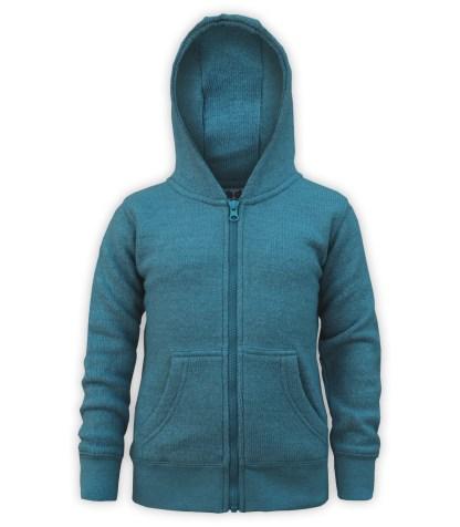 blue kids nantucket fleece full zip soft jacket blanks for embroidery