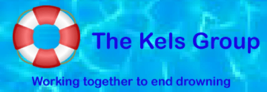 Logo of The Kels Group, working together to end drowning