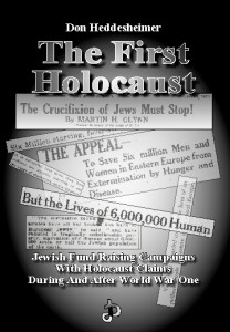 Must read book by Don Heddesheimer, The First Holocaust.