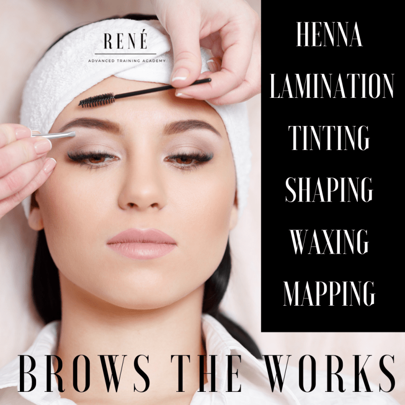 HENNA BROW, BROW LAMINATION, BROW TINTING, BROW WAXING, BROW SHAPING TRAINING COURSE