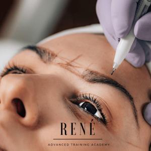 Semi perm makeup training in micropigmentation