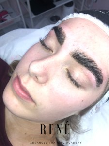 brow lamination training