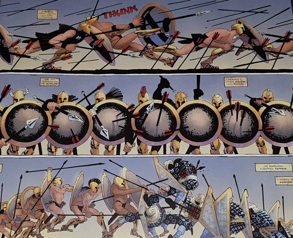 Die Griechen gegen die Perser!