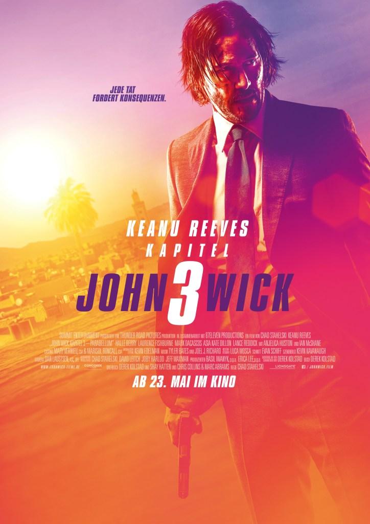 John Wick Kapitel 3 Poster