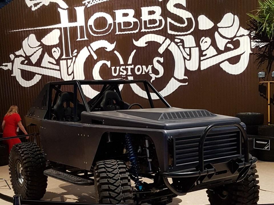 The Rocks Wagen aus F&F Hobbs & Shaw