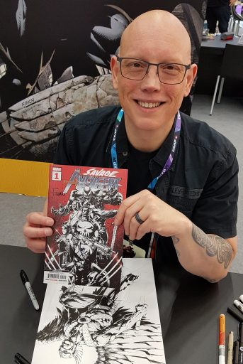 David Finch auf der CCXP Cologne