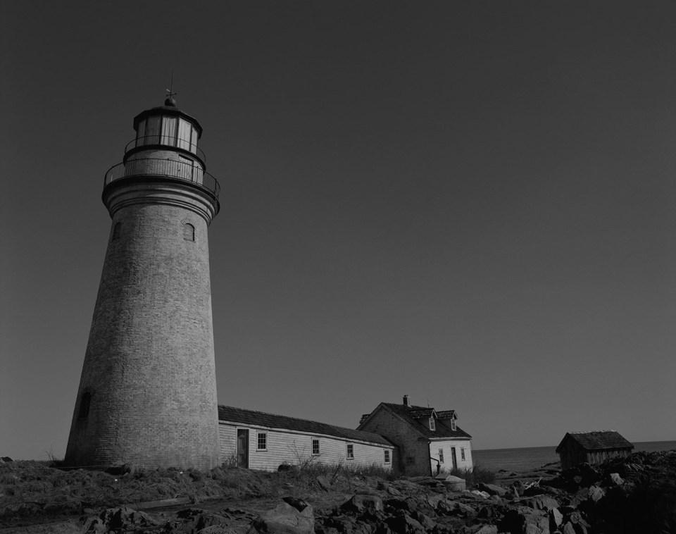 Das Set des Films wurde eigens für Der Leuchtturm erbaut.