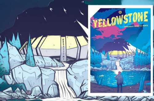 Das Cover von Yellowstone (Bild: Renes Nerd cave/Zwerchfell Verlag)