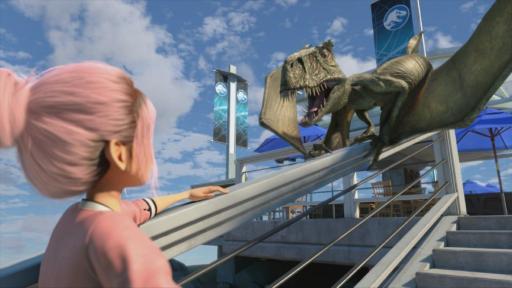 Der Dimorphodon in Jurassic World Staffel 3 (Bild: Netflix Deutschland)