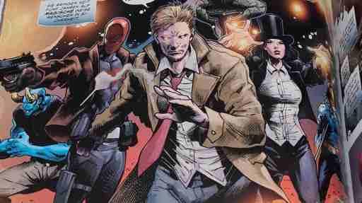 John Constantine spielt eine zentrale Rolle in DC-Horror - Der Zombie-Planet (Bild: Renes Nerd Cave/Panini Verlag)