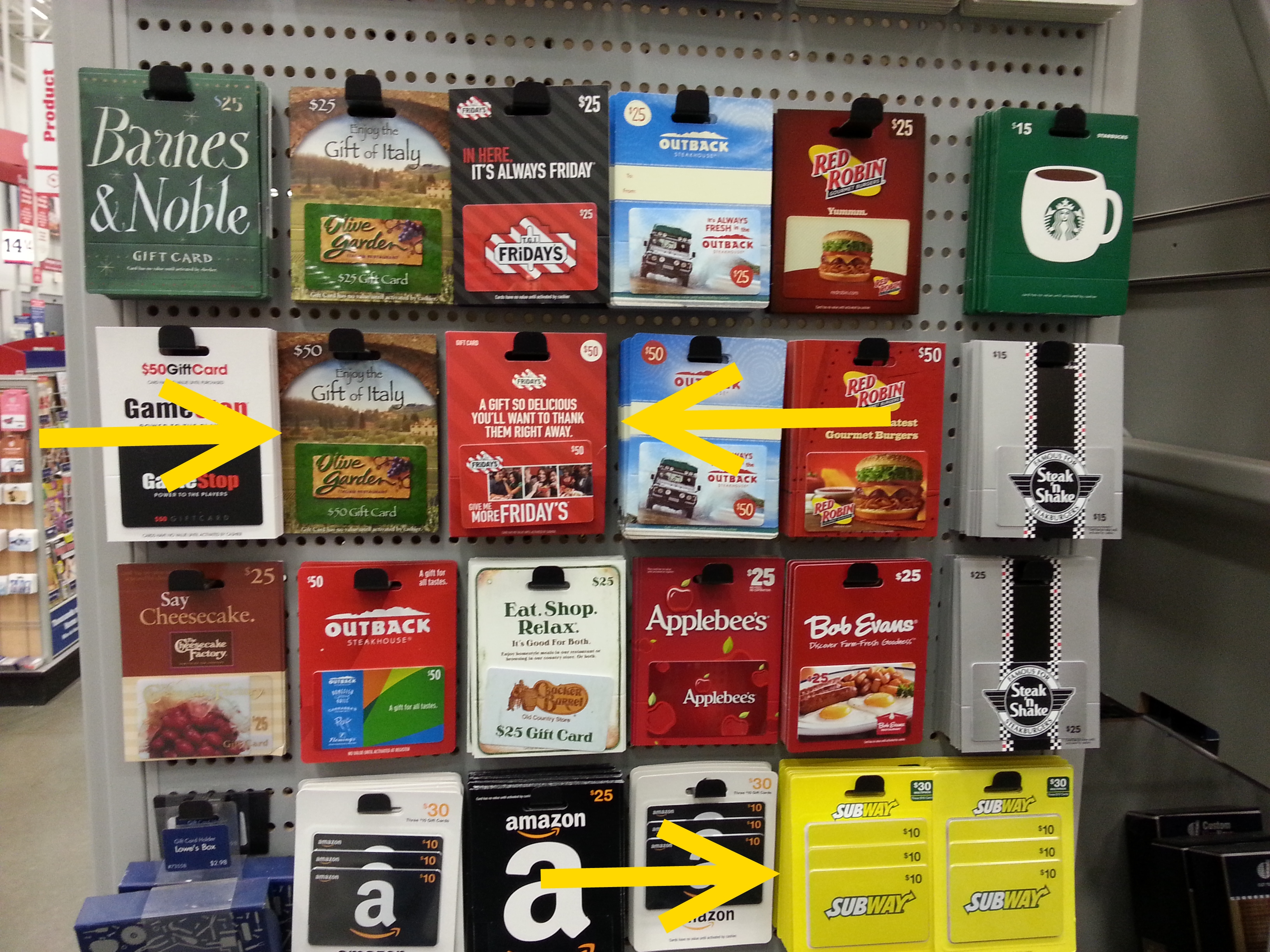 gift cards at lowes 3  Rens Points