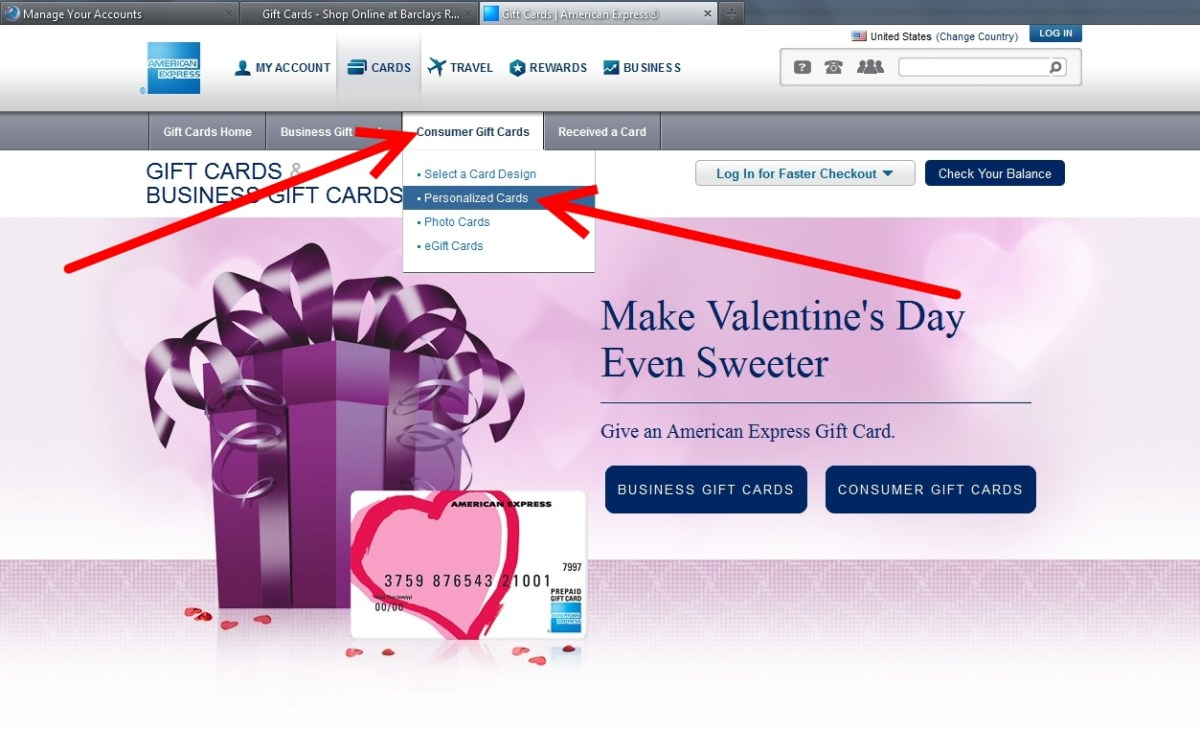 Amex Business Gift Card Images - Free Business Cards