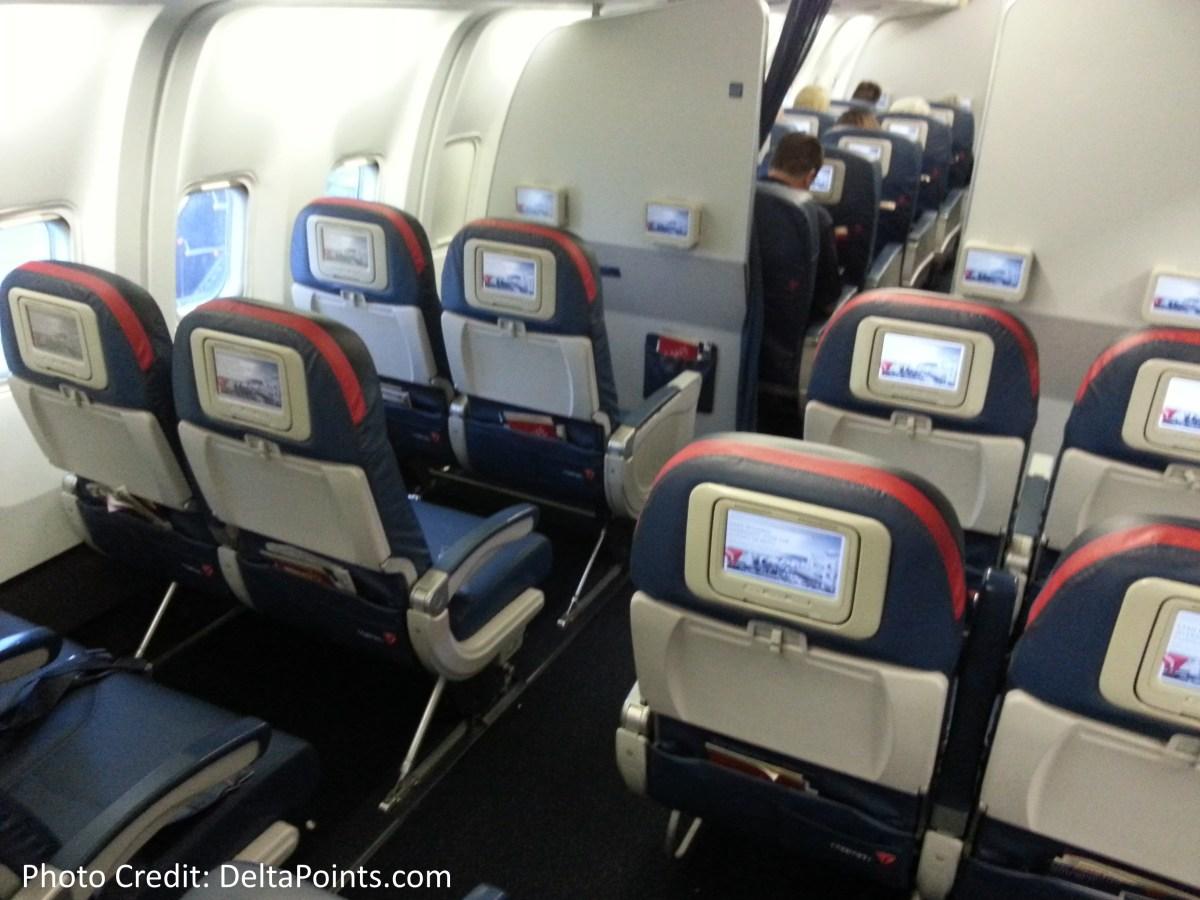 Delta 767 300 Domestic Comfort Plus Seat 3 Delta Points