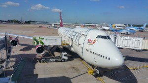 A Virgin Atlantic 747